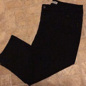Chico's black jeans